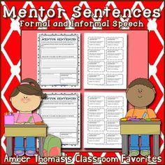 Mentor Sentences: Similes and Metaphors Grade} Reading Lesson Plans, Reading Lessons, Writing Lessons, Reading Skills, Writing Skills, Mentor Sentences, Mentor Texts, Expository Writing, Narrative Writing