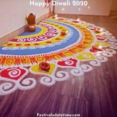 Rangoli Designs For Diwali 2020 – Festivals Date & Time