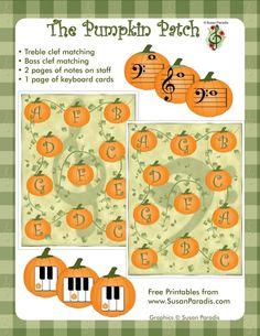 Pumpkin Patch Note File Folder Game
