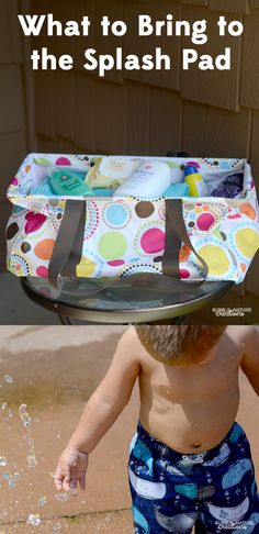 What to Bring to the Splash Pad