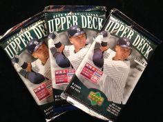 3X Upperdeck 2006 MLB Hobby Baseball Packs Series 2