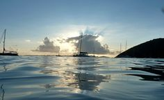 """White Bay, Jost Van Dyke, British Virgin Islands."" (From: 45 Beautiful Caribbean Escapes: It's Not Too Late!)"