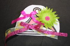 Cute inexpensive hand sewn barrettes!