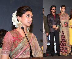 Deepika Padukone in Sabyasachi #Saree.