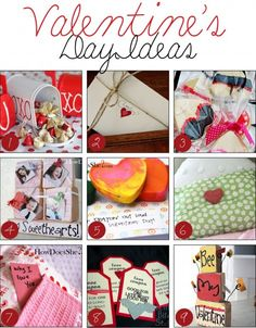 HowDoesShe? has put together a great list of over 50 Valentine's Day Ideas. The list includes printables, pennant banners, treats, decor, gift ideas, cards, things for the classroom, activities and more! With ideas like 14 Days of Gifts; Valentine's Day Countdown, 12 Simple Ways to Say I Love You With Food, and Shower Love Notes, you can't go wrong!