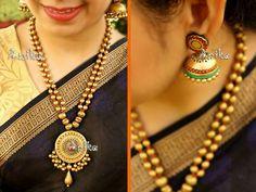 Anika terracotta jewelry Terracotta Jewellery Making, Terracotta Jewellery Designs, Terracotta Earrings, Indian Jewellery Design, Jewelry Design, Funky Jewelry, Jewelry Model, Diy Jewelry, Beaded Necklace Patterns