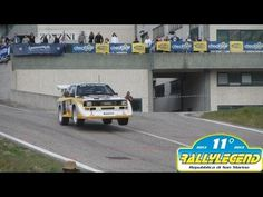 INSANE Audi Quattro Sport S1 1000 Lakes Group B Rally (Pure Engine Sound) - YouTube