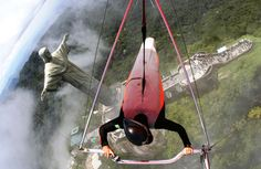 Hang Gliding in Rio   Ill do either this or zipline through the canopy