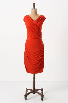 I do love a bright red dress! Especially this one from Anthropologie!