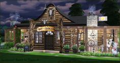 Sims 4 CC's - The Best: Ranch Restaurant by Tanitas8