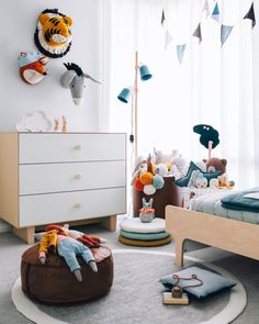 Kid's room inspiration | OYOY Rabbit Roly-poly available at www.istome.co.uk