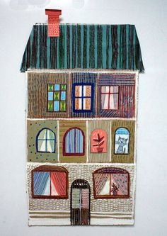 DRAWING WITH KID | HOUSE ILLUSTRATION | MADE BY KIDS | KIDS ART LESSONS |