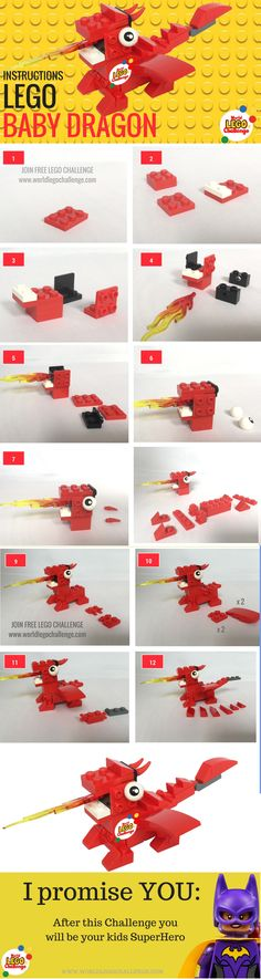 Mini Dragon Lego Instructions