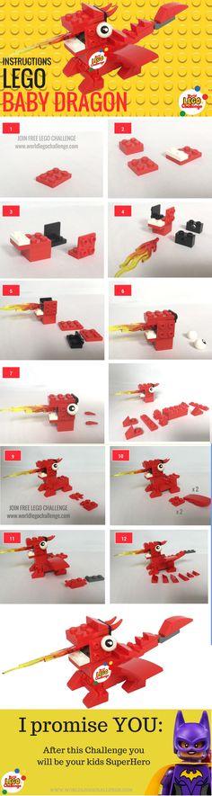 39 Best Lego Dragon Images On Pinterest Lego Dragon Awesome Lego