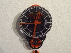 3D printed mechanical Clock with Anchor Escapement by TheGoofy - Thingiverse