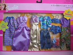 Barbie 6 Fashion Gift Pack - 6 Fabulous Outfits! So Many Looks! (2001) | eBay