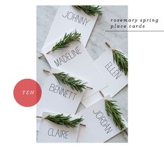 thanksgiving-rosemary name cards