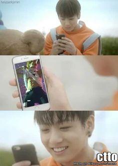 Jungkook be like...