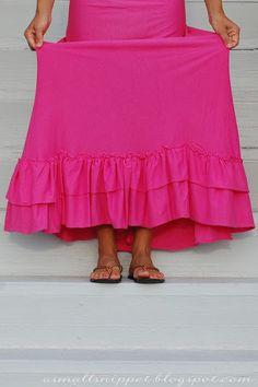 http://asmallsnippet.com/2012/05/from-sheet-to-maxi-skirt.html