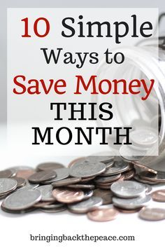 Looking for some ways to cut your spending and save money this month? Try these practical tips to save money and pay down debt. Living On A Budget, Frugal Living Tips, Frugal Tips, Frugal Family, Best Money Saving Tips, Money Tips, Saving Money, Money Hacks, Save Money On Groceries