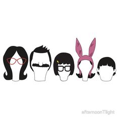 Bobs Burger gang by afternoonTlight