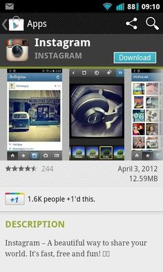 Instagram comes to Android!