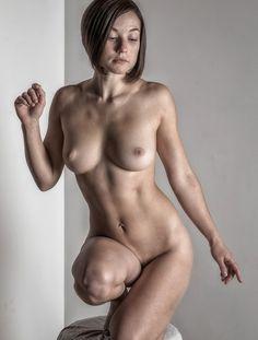 Plump split mound of her vulva