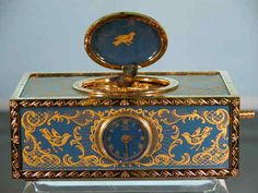 Reuge Mechanical Bird Music Box Enameling by Halcyon Days Ltd | eBay