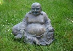 LATEX MOULD + fibreglass casing OF LARGE LAUGHING BUDDHA Ref: 2163