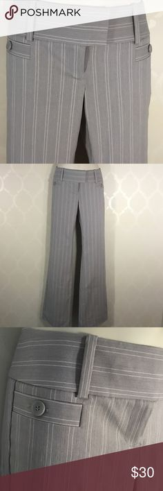 "🆕THE LIMITED GRAY PINSTRIPED PANTS The Limited Gray Pants ➖ Pinstriped with fine White Line ➖ Drew Fit ➖ Inseam 33"" ➖ Regular Length The Limited Pants"