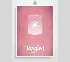 Disney Tangled Movie Poster  Disney Princess Poster by POSTERED, $18.00