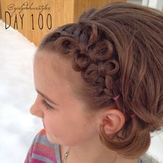 Girly Do Hairstyles: By Jenn: Week 23 {#GirlyDos100DaysofHair}