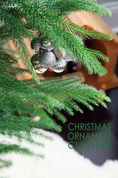 Christmas with Little Ones + An Ornament Cluster DIY