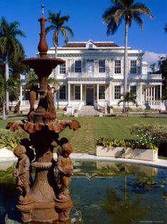 Robert Devon House.  Stands on Millionaire;s Corner.  It was the home of prominent Jamaican George Stiebel. Today this historical site serves as a museum.  Kingston JAMAICA.