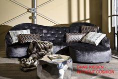 Sofa Nido 2 + 3 KARE + Studio Divani