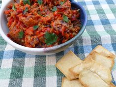 Roasted Eggplant Spread Recipe : Ina Garten