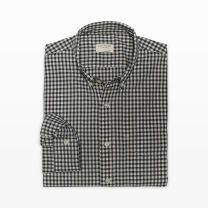 Slim-Fit Nep Gingham Shirt - Our perfectly tailored dress shirt gets an upgrade in crisp gingham print, while nep fabric adds an interesting element of texture.