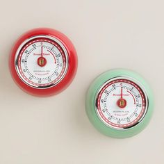 Retro Magnetic-Timer via Cost Plus World Market >> #WorldMarket Holiday Baking