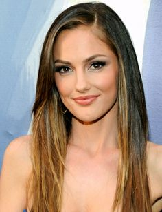 Minka Kelly: make your look soft by only putting liner on the top