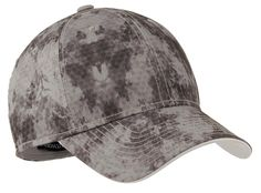 Root for your favorite team in this sweat-wicking cap that sports a broken-in camo pattern and thick stitching.