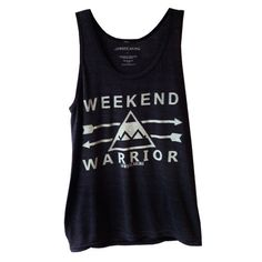 Weekend Warrior Tank by Jawbreaking.