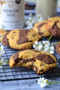 Cookies Healthy, Dessert Healthy, Cookies Light, Vegan Kitchen, Cookies Et Biscuits, Gluten, Health Fitness, Healthy Recipes, Healthy Food