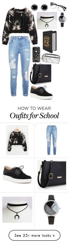 """""""Untitled #103"""" by kittykittymeowmoew on Polyvore featuring Dr. Scholl's, Kate Spade, BKE and Thomas Sabo"""