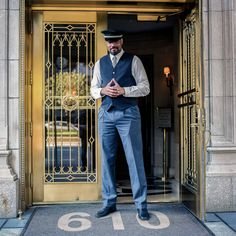 The Urban Lens: Sam Golanski gives Park Avenue doormen their moment in the spotlight