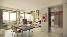 erstklassige Duplex-Penthouse Wohnungin Zürich zu vermieten.