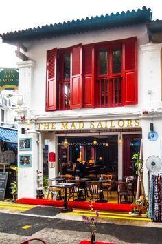 The Mad Sailors – British Kitchen 24 Haji Lane Singapore 189217