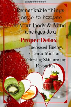 My article on Detoxing will have you convinced in no time to give it a try! Health And Nutrition, Health Tips, Gentle Detox, How To Increase Energy, Healthy Eating, Weight Loss, Fruit, Board, Eating Healthy