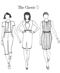 The Four Principles of Dress: Fabric, Line, Ornament & Focal Point.