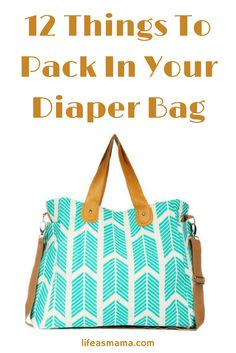 Packing your diaper bag can be kinda overwhelming as a new mom, especially when venturing out of the house alone with your brand new babe seems a like a feat all by itself. Check out this handy list of some of my personal must haves for your diaper bag.
