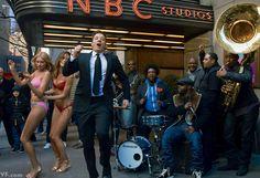 Jimmy Fallon's Tonight Show on NBC Studios, NYC